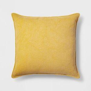 Oversize Yellow Pillow- Chambray *Threshold*
